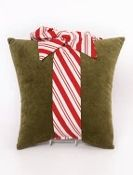 Woof n Poof Christmas Pillows, Large Package, Green with Candy