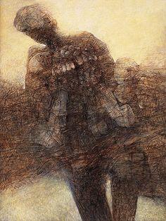 Zdzisław Beksiński. Obrazy. Lata 1995-2005