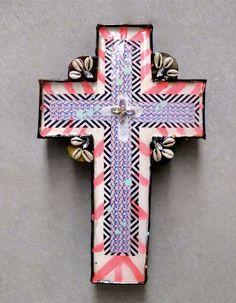 Ahoy Trader Rustic Tribe Diamond Cross. #Stylish365