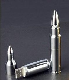 Amazon.com: 64 Gb USB Memory Stick Flash Pen Drive Mental Bullet Silver: Computers & Accessories