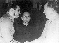 Mao Zedong with Che Guevara by  Unknown Artist