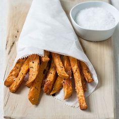 Sweet Potato Fries // More Tasty Snacks: http://www.foodandwine.com/slideshows/tasty-snacks #foodandwine