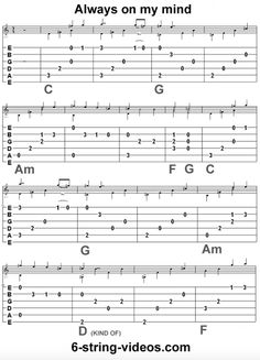 Basic Guitar Lessons for Free Guitar Acoustic Songs, Guitar Tabs And Chords, Easy Guitar Tabs, Music Tabs, Easy Guitar Songs, Guitar Chords For Songs, Guitar Sheet Music, Acoustic Guitars, Ukulele Tabs