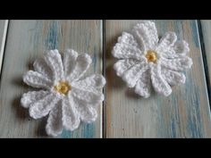 How to Crochet a Daisy Flower - YouTube
