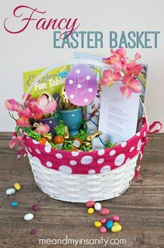 Easter Basket Ideas |  How To Make Your Own DIY Fancy Easter Basket By DIY Ready. http://diyready.com/21-diy-easter-basket-ideas-that-will-have-you-hoppin/