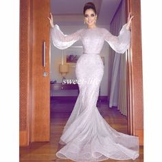 Wanna Evening Dresses,Prom Dresses in , Mermaid style, and delicate Beading,Lace work? Babyonlinewholesale has all covered on this elegant Simple Lavender Bubble Sleeves Full Beads Evening Dresses Long Sleeve Evening Dresses, Evening Dresses Online, Prom Dresses Long With Sleeves, Mermaid Evening Dresses, Dress Long, Wholesale Prom Dresses, Cheap Prom Dresses, Lavender Prom Dresses, Banquet Dresses