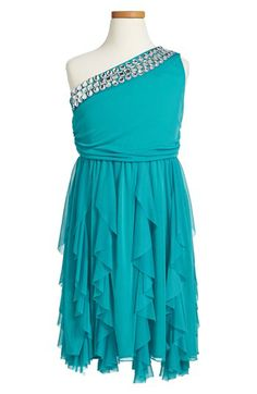 Roxette Rhinestone Dress (Big Girls) available at #Nordstrom
