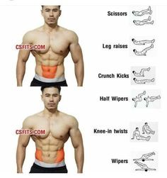 Fitness Workouts, Fitness Motivation, Abs Workout Routines, Gym Workout Tips, Fitness Tips, Body Fitness, Workout Abs, Health Fitness, Dieta Fitness