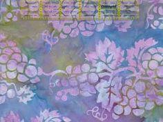 Amethyst - Hoffman Bali Batik Handpaints Grapes - Retired