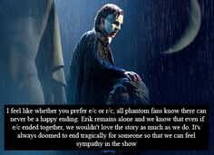 Phantom of the Opera Confessions   I love this!  This could be one of the most accurate description of the story!