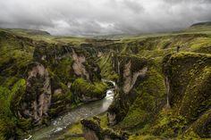 Fjaorargljufur Canyon, Iceland  Earth Pics (HD) (@EarthPixHD) | Twitter
