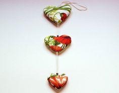 Herzenmobile Mohnblume  von Mausepelzchen kreativ auf DaWanda.com
