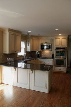 Inspired small kitchen remodel (3) #KitchenRemodeling