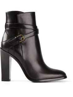 Shop Saint Laurent 'Hunting 105' ankle boots in from the world's best independent boutiques at farfetch.com. Over 1500 brands from 300 boutiques in one website.