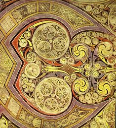 "Chi-Rho Page from the Book of Kells: ""The Word Made Flesh"" Medieval Manuscript, Medieval Art, Illuminated Manuscript, Book In Latin, The Book, Book Of Kells, Das Geheimnis Von Kells, The Secret Of Kells, Celtic Art"