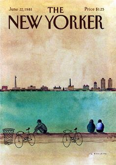 The New Yorker cover, 1981