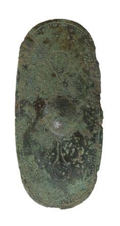 Bronze votive shield from Alcester, Warwickshire (now in Warwickshire Museum).