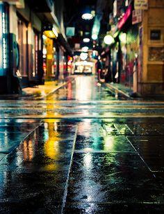 Rain reflections