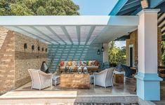 Uma missão chegou à arquiteta Andrea Murao: construir, do zero, um living aberto, sem paredes laterais, em uma fazenda colonial. Parte foi c...