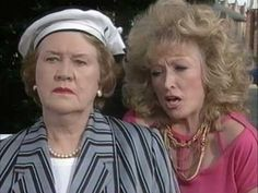 A collection of bloopers from the British comedy series Keeping Up Appearances. British Comedy Series, British Tv Comedies, British Actresses, Actors & Actresses, Comedy Clips, Comedy Tv, The Paradise Bbc, Funny Sitcoms, English Comedy