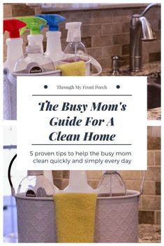 Here are some tips to make cleaning easier for the busy mom. The Busy Mom's guide for a clean home. How to clean faster and more efficiently. Here are some tips t Deep Cleaning Tips, House Cleaning Tips, Cleaning Solutions, Spring Cleaning, Cleaning Hacks, Hardwood Floor Cleaner, Homemade Toilet Cleaner, Clean Baking Pans, Cleaning Painted Walls