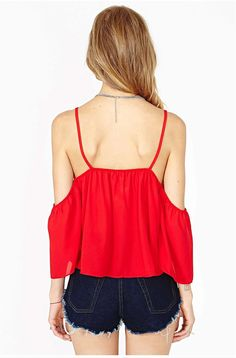 Chic-ing Sexy Clubwears Plus Size Crop Tops XXL 2015 Summer V-Neck Off The Shoulder Halter Tops Camis Chiffon Blouses B1505069