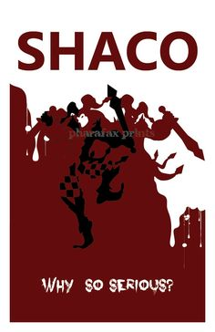 Shaco League of Legends Print by pharafax on Etsy, $16.00