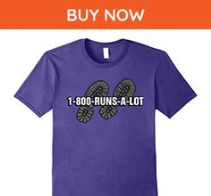 Mens Funny Long Distance Runner T-Shirt XL Purple - Funny shirts (*Amazon Partner-Link)