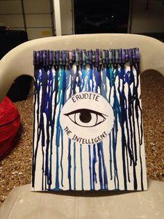 Erudite crayon art Divergent trilogy