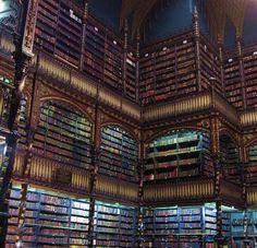via books, books, books!