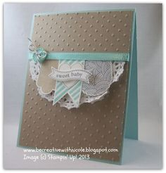 Hearts a Flutter Baby Card by nwt2772 - Cards and Paper Crafts at Splitcoaststampers