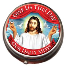 Jesus Pill Box::Unemployed Philosophers Guild