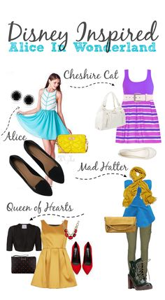 Love Disney? You can be Disney inspired with your fashion without dressing like it's Halloween.