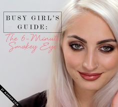 Video: The Busy Girl's Guide – The 6-Minute Smokey Eye • Makeup.com