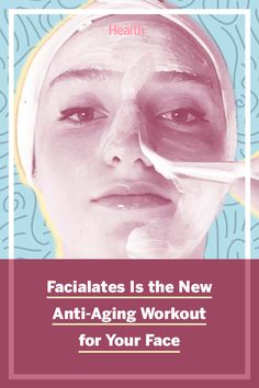 "Pilates is a great workout for toning and tightening—but could it have the same effect on your face? That's the idea behind ""facialates,"" which is like Pilates, but for your face. #antiagingskincare #pilates #facialates #beautytips"