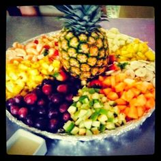 Display de Frutas Exoticas