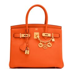 #Hermes #Birkin #Bag Feu Togo Gold Hardware