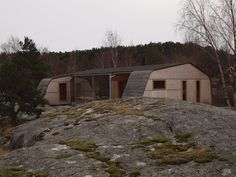 Summer house Grøgaard and Slaattelid,Courtesy of Knut Hjeltnes