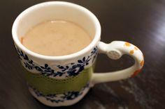 Spiced milk yummy late night cuppa
