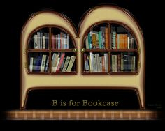 B is for Bookcase by Imajilon, via Flickr