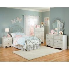 Girls White Bedroom Furniture Sets | White Bedroom Set | Pinterest ...