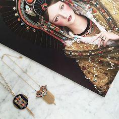 La collection Sofia est arrivée dans nos boutiques Satellite ainsi que sur notre e-shop ! #satelliteparis #gioielli #bijoux #love #photooftheday #collier #necklace