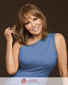 Get the look of chic and trendy bangs in a flash, with the Faux Fringe by Raquel Welch. Many time we want the saucy and sophisticated look of full-length bangs, but are nervous about committing to a f
