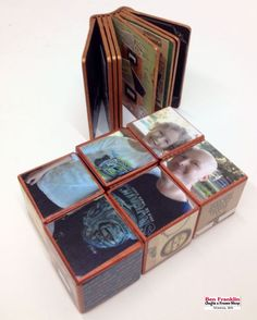 Here's an easy-to-make Father's Day gift idea! Paint some unfinished wood blocks, cut pictures to fit the squares, glue and seal using Mod Podge! Come in and we'll show you how easy this project is to make! Mod Podge Crafts, Fun Crafts, Gifts For Dad, Fathers Day Gifts, Old Boxes, Frame Crafts, Unfinished Wood, Frame Shop, Wood Blocks