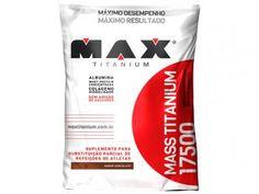 Hipercalórico Mass Titanium 17500 Refil 1,4Kg - Chocolate - Max Titanium