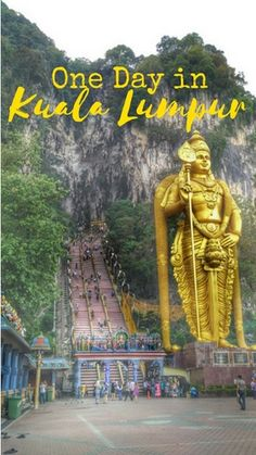 Batu Caves - One Day in Kuala Lumpur - Things to do, see and eat. Bonus: Public Transport and metro guide for KL