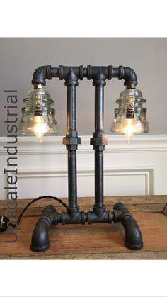 Steampunk Lamp /Industrial lighting / Pipe Lighting / Pipe