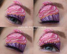 bareiselin makeup pink cupcake