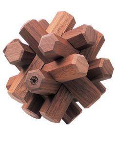 Walnut Puzzle Walnut