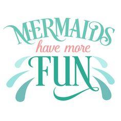 Silhouette Design Store: mermaids have more fun